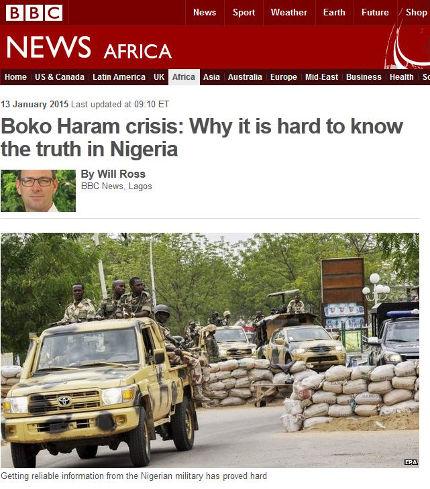 Islamic terrorists from Boko Haram attack Baga, Nigeria