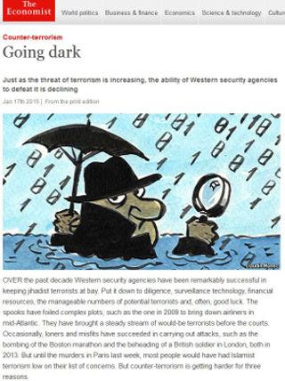 Economist magazine editorial on dealing with terrorism