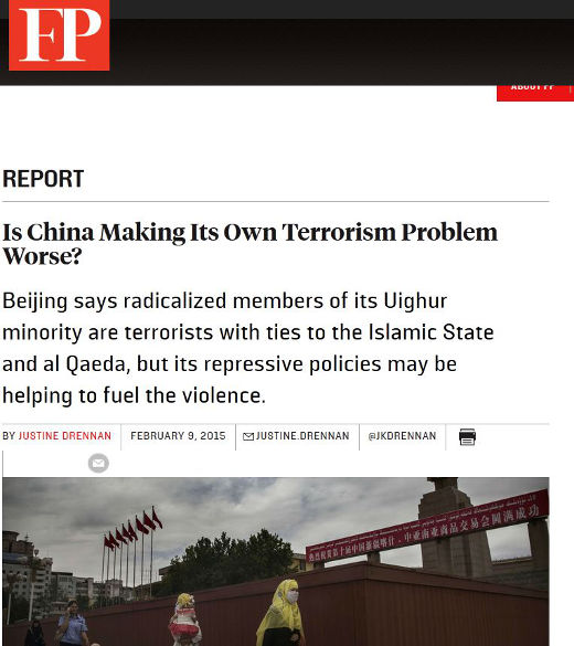 How China deals with its native Muslims will impact its security